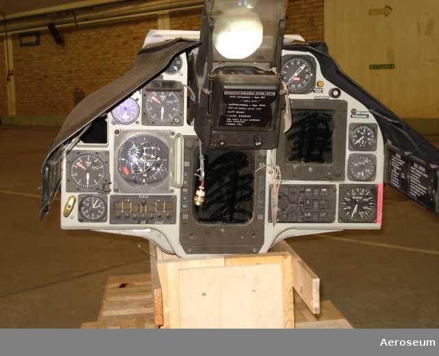 Instrumenbräda till flygplan 37