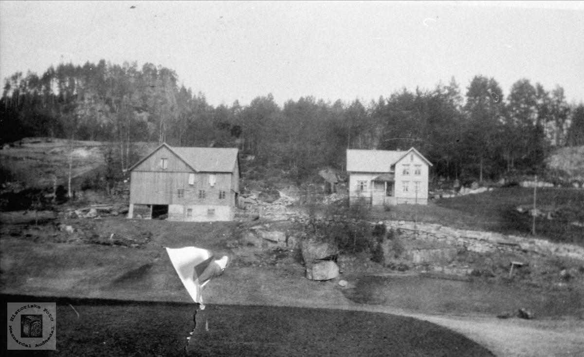 """Brotan"" gårdsbruk på Foss i Bjelland."