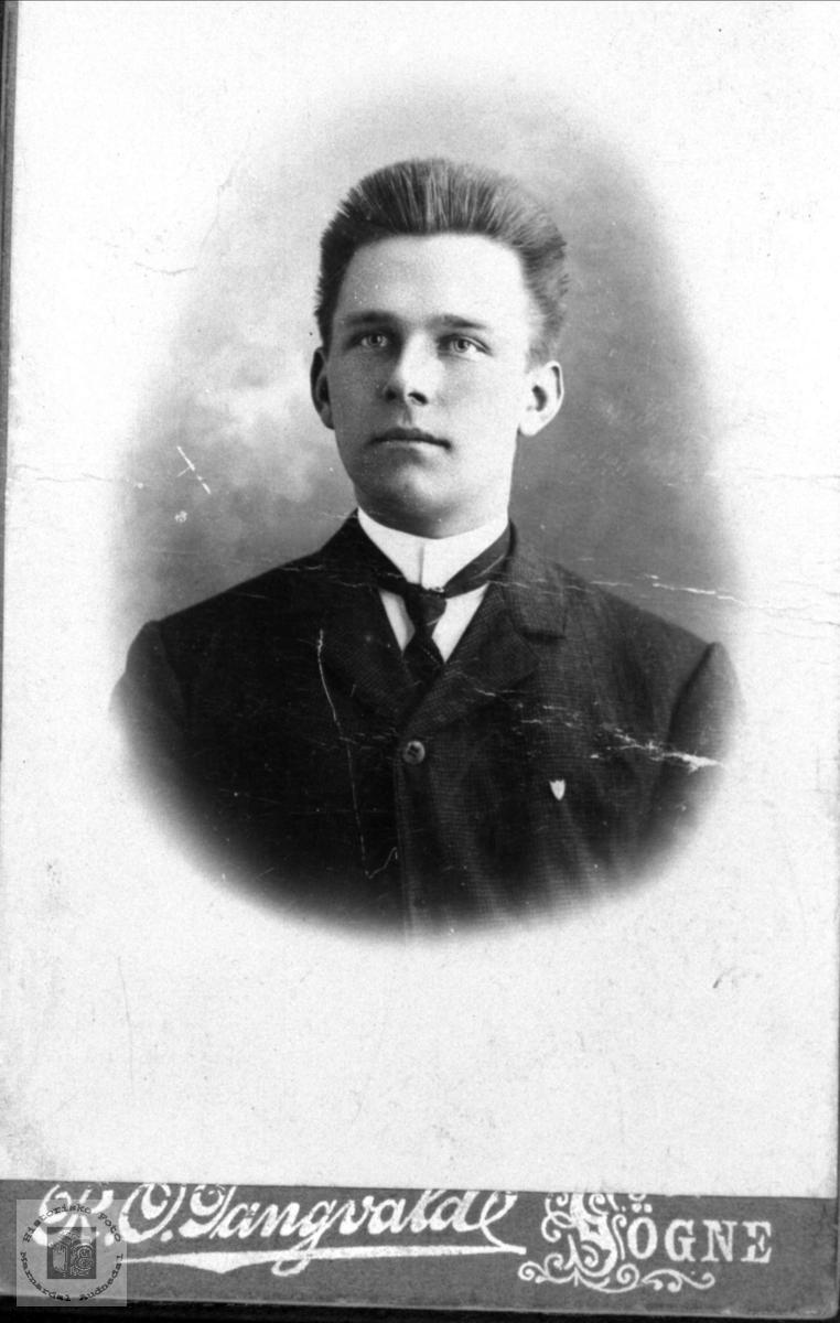 Portrett av Erik Brunvatne, Øyslebø.