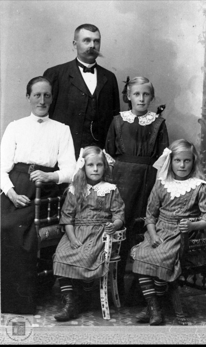 Familiegruppe Spilling, Sør-Audnedal med røtter i Øyslebø.