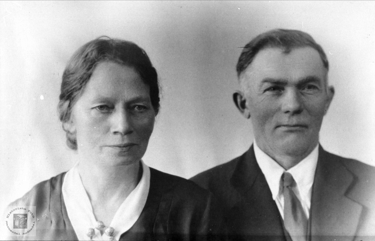 Ekteparet Gunda Amalie og Thom Torp