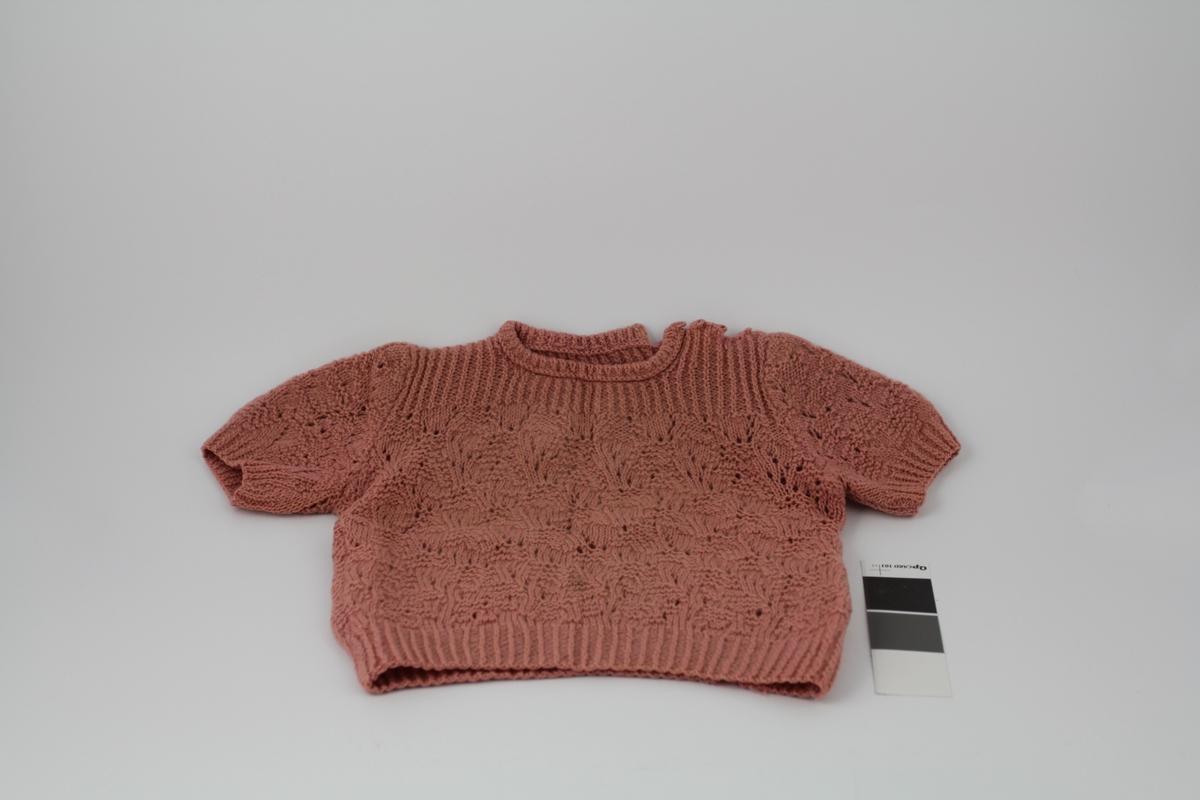 genser med knepping