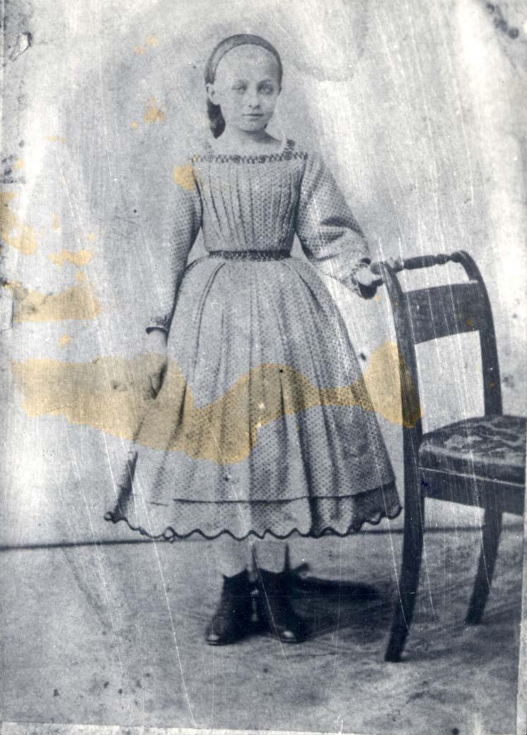 Portrett av pike.