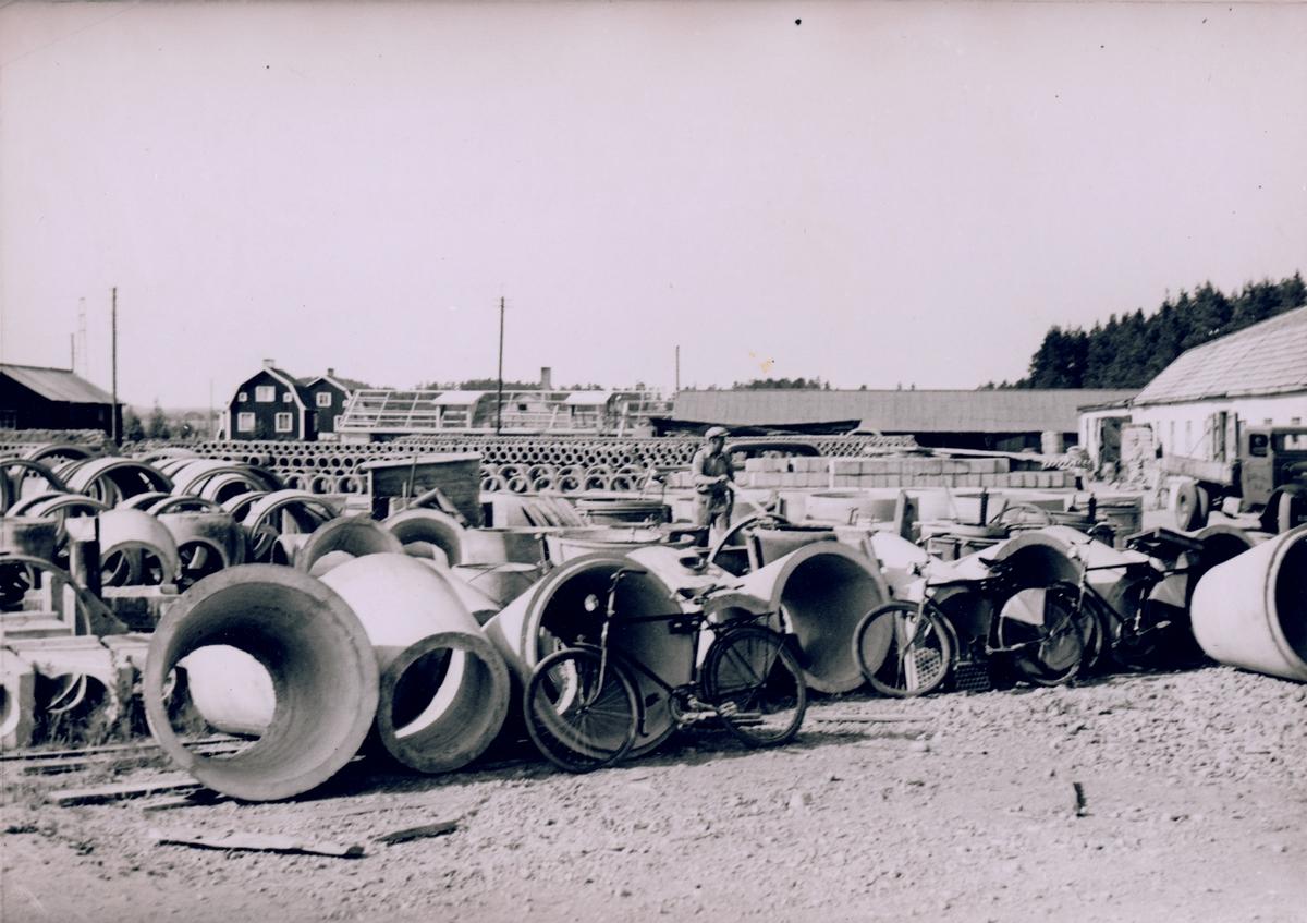 Kolbäcks Cementgjuteri AB, 1938.