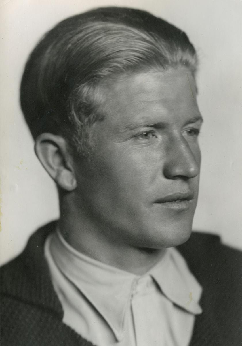 Portrait of ski athlete Birger Ruud