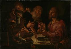 Kristus i Emmaus [Maleri]