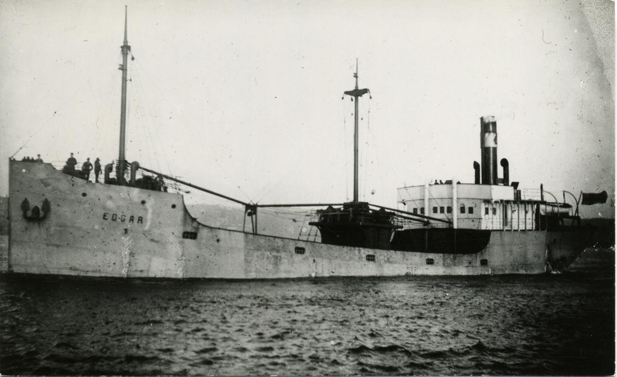 Lastfartyget ss Edgar ägt av Firma Gustaf Erikson 1920-1922.