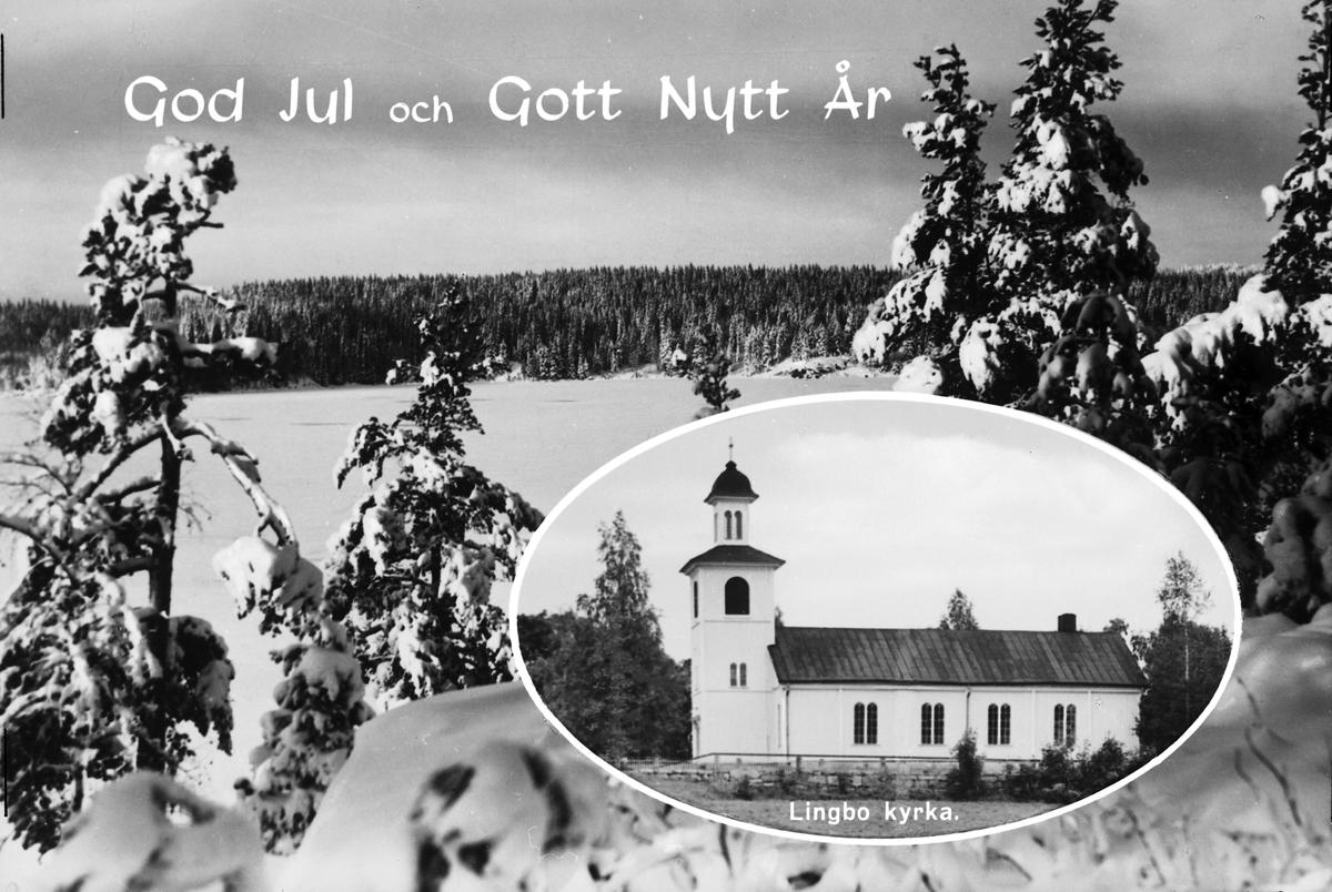 """""""GOD JUL och GOTT NYTT ÅR"""", Lingbo, Gästrikland"""