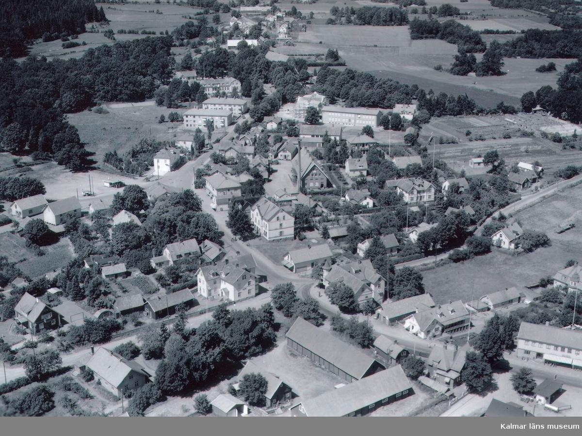 Flygfoto över Torsås.