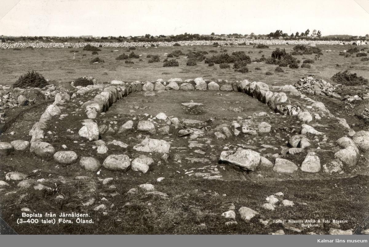 Boplats från järnåldern (3-400-talet).