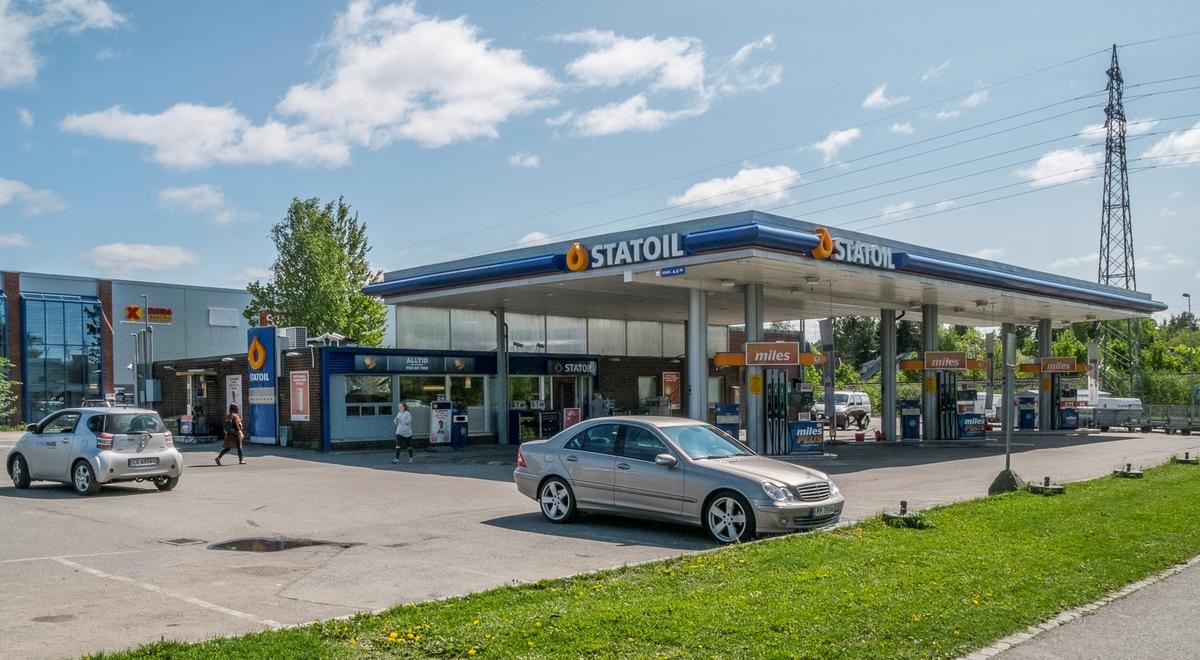 Statoil bensinstasjon Jernbaneveien Ski