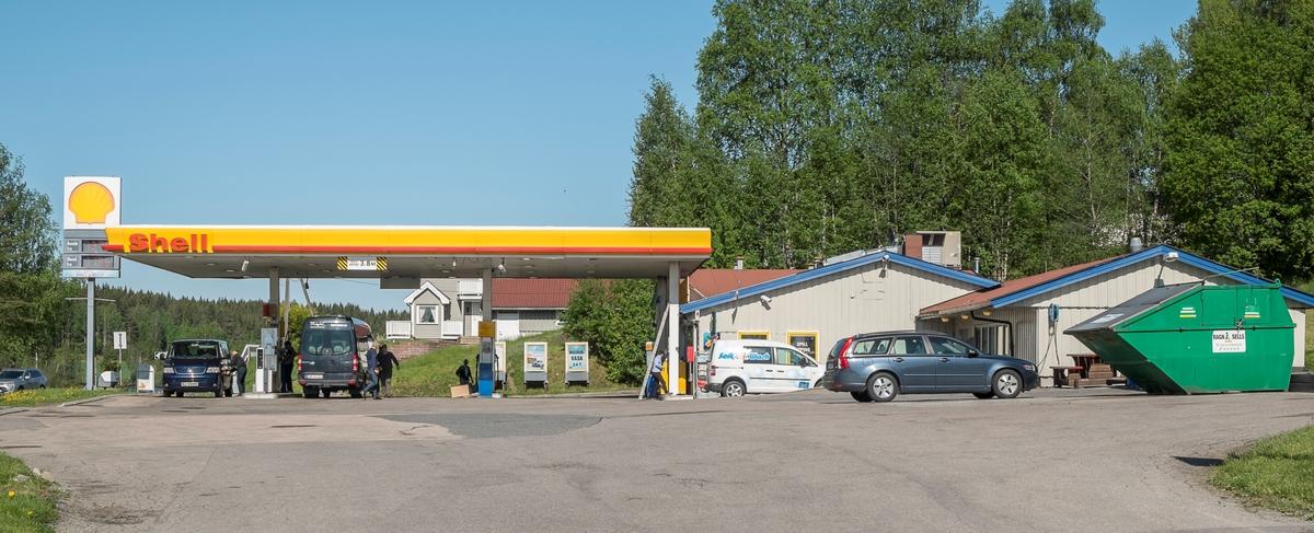 Shell bensinstasjon Osloveien Ytre Enebakk
