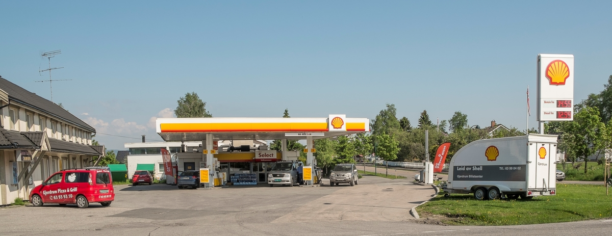 Shell bensinstasjon Ask Gjerdrum
