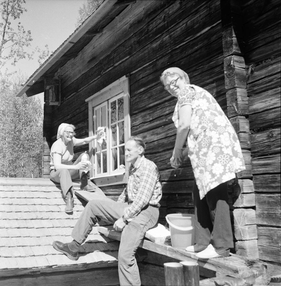 Dalsjön, Städning och röjning, Maj 1973