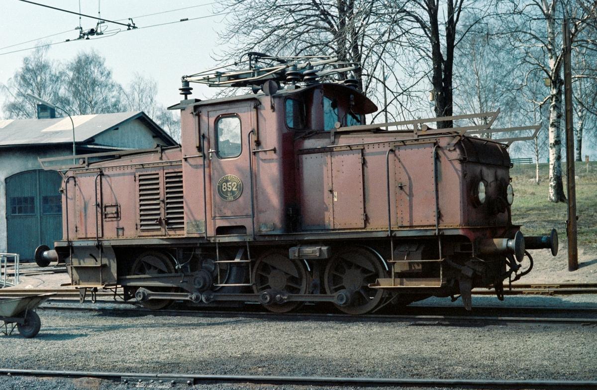Svensk skiftelokomotiv typ Ud nr. 852.