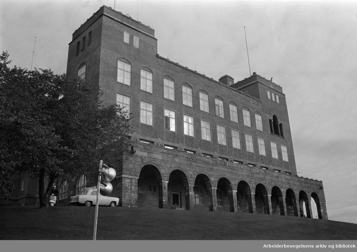 Ekeberg: Sjømannskolen. Oktober 1967