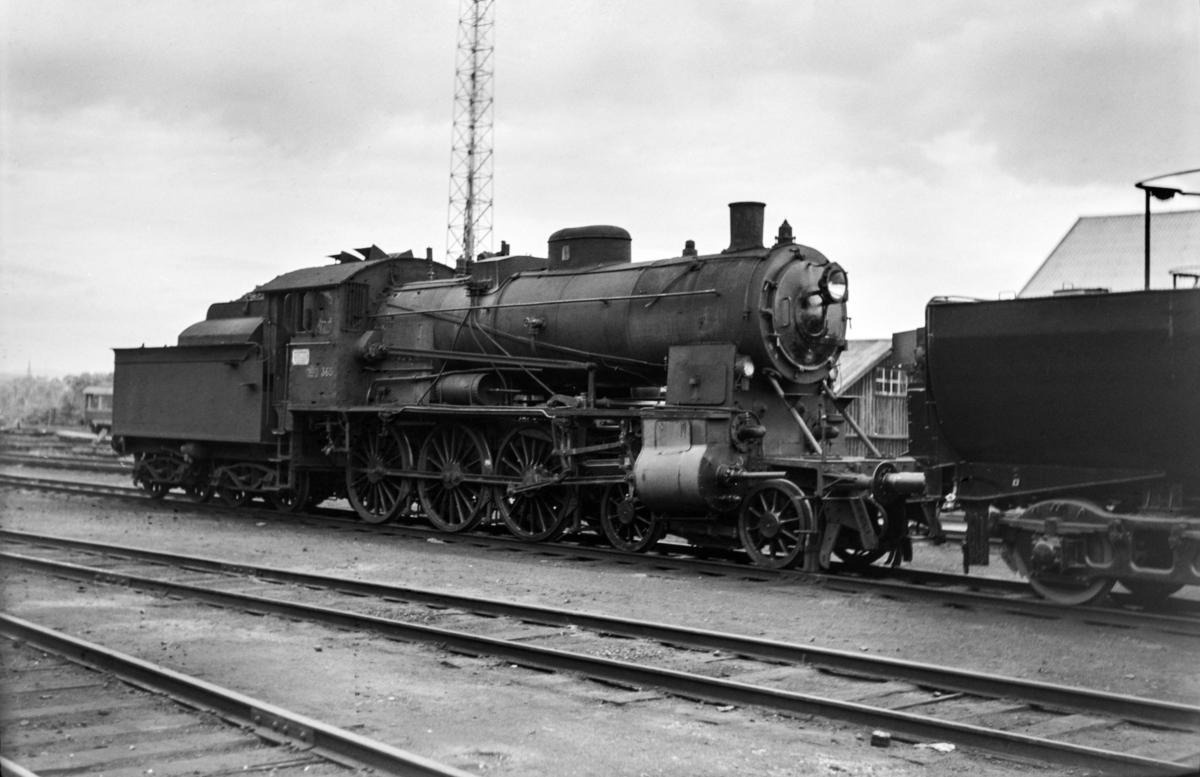 Damplokomotiv type 30b 365 på Marienborg.