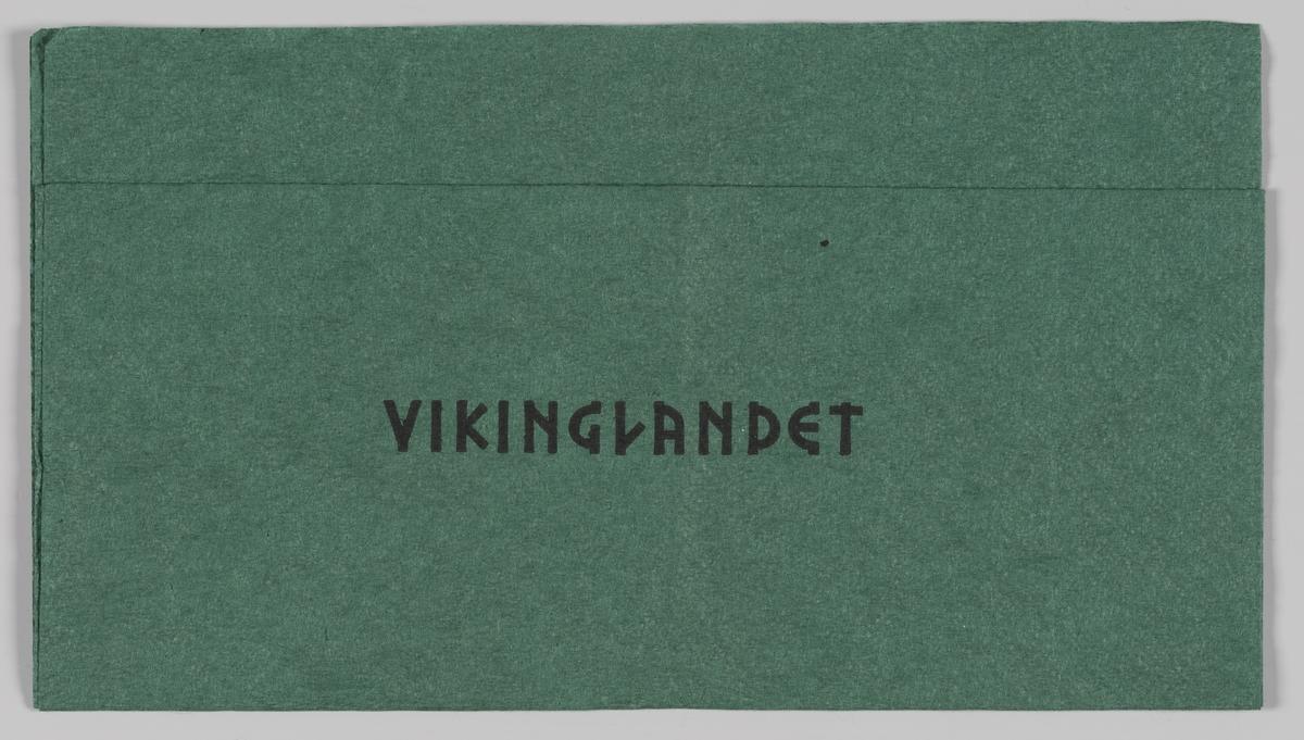 En reklametekst for Vikinglandet i fornøyelsesparken Tusenfryd.