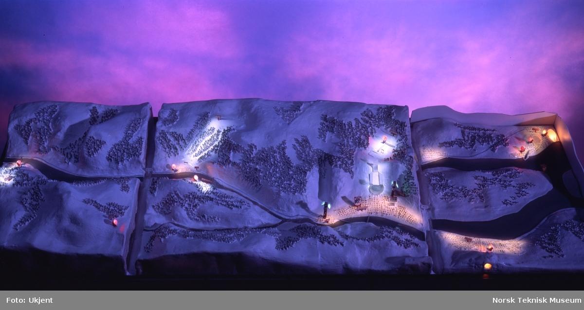 STK Olympiske leker Lillehammer 1994 modell natt