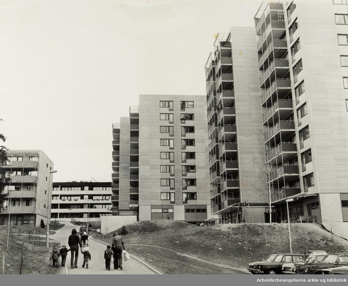 Hovseter. April 1978