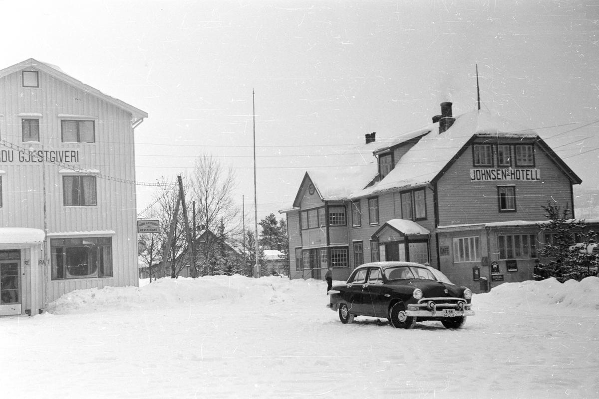 Ved Barduelva, november 1951