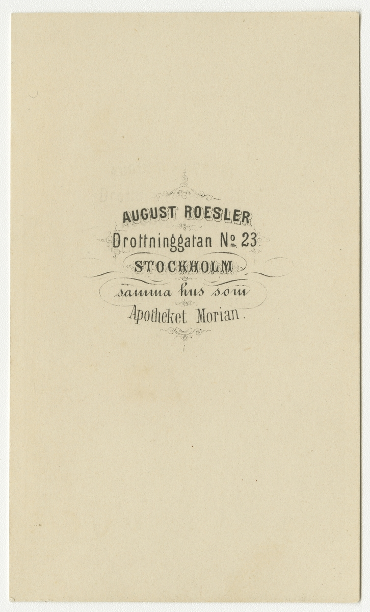 Porträtt av Per Christian Lovén, generalmajor och regementschef vid Andra livgrenadjärregementet I 5.  Se även bild AMA.0007806.