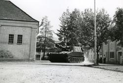 M109G Selvdreven  Felthaubitzer Her prøvekjøres den på KV.
