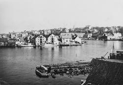 """Hasseløy - """"Krossen"""" - sett mot nord, ca. 1935."""