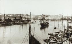 Smedasundet, Krossen, sett mot nordvest, ca. 1899.