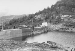 Dam ved Osvatn, Tyssebotn.
