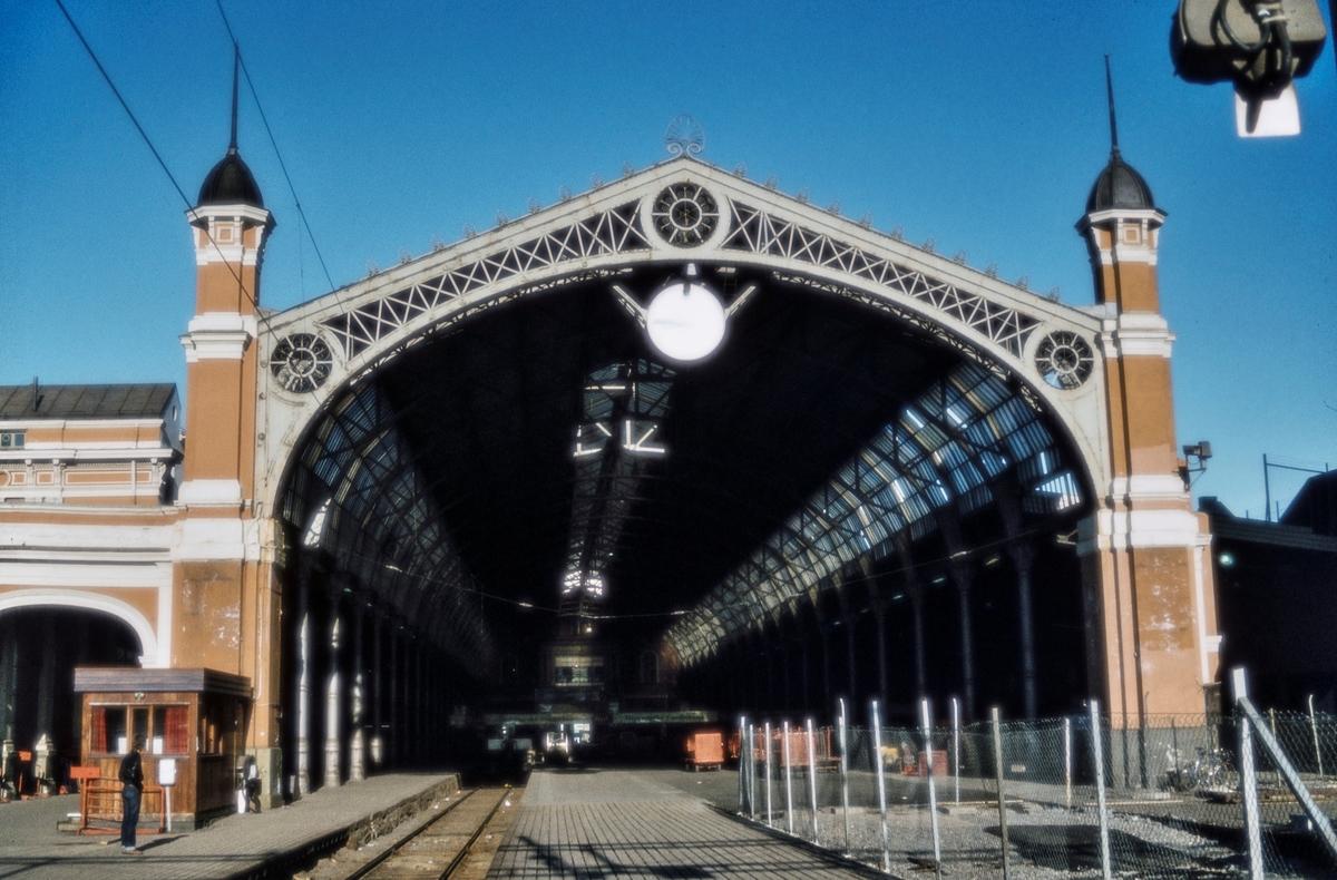 Toghallen på Oslo Østbanestasjon