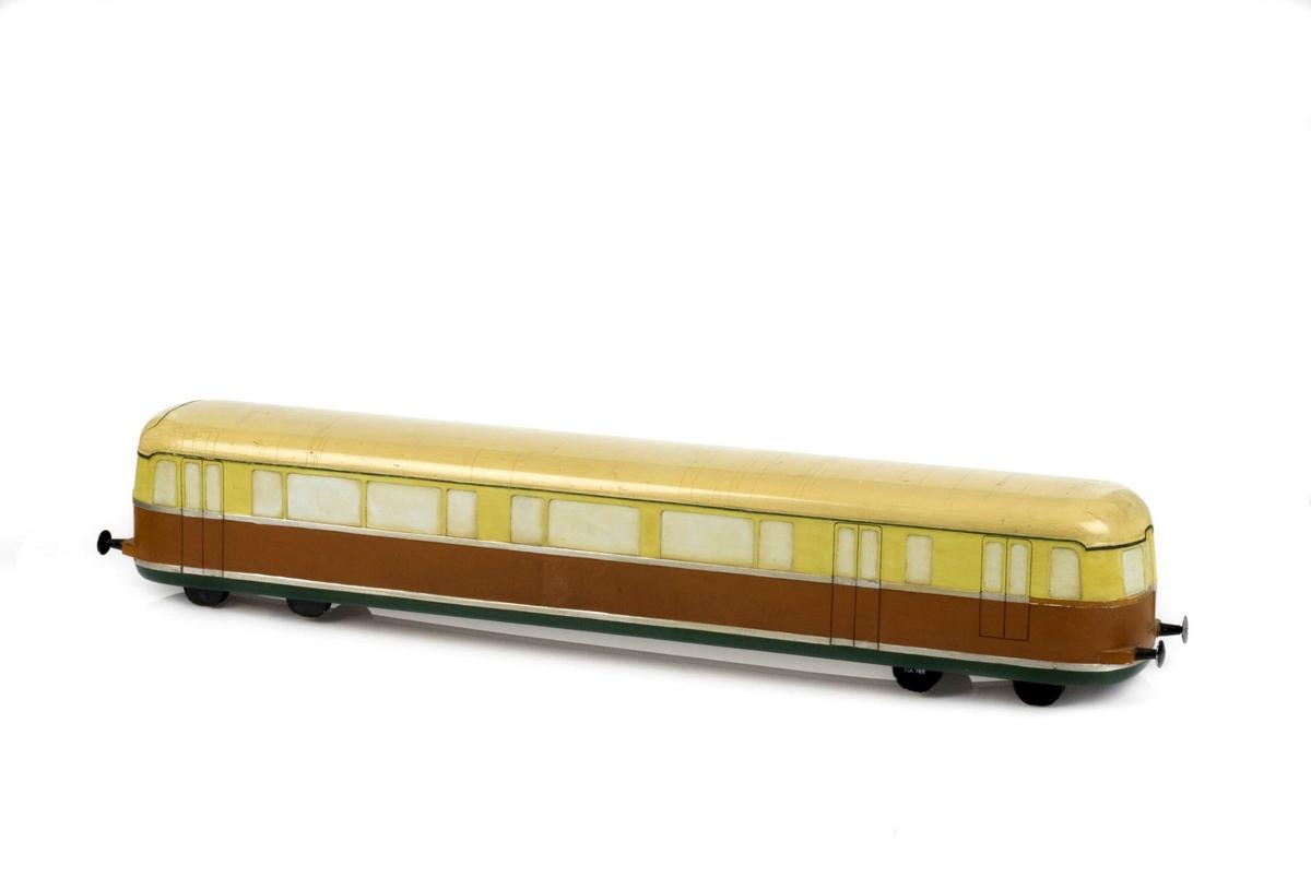Tremodell av Motorvogn for NSB