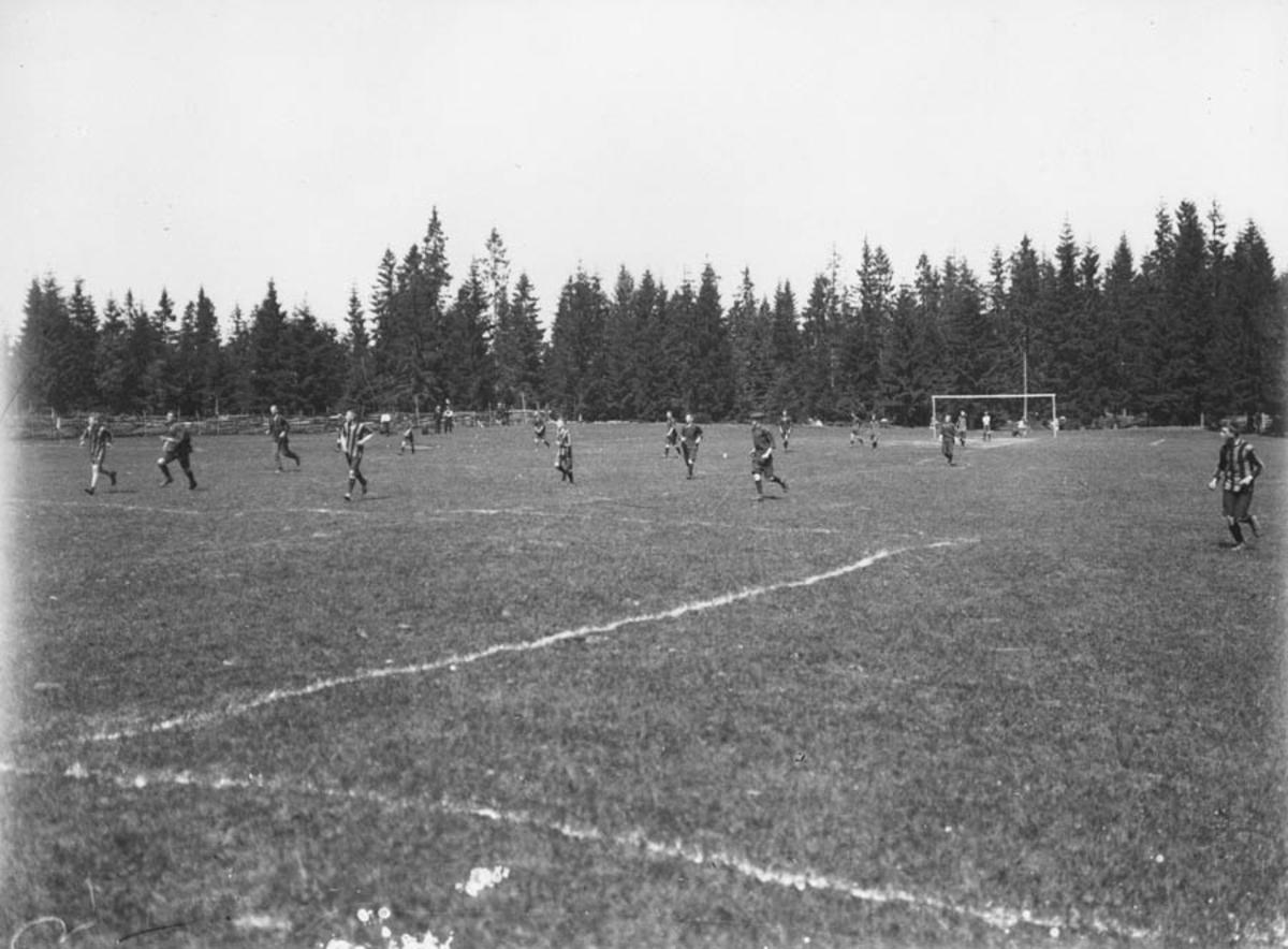 Fotballkamp.