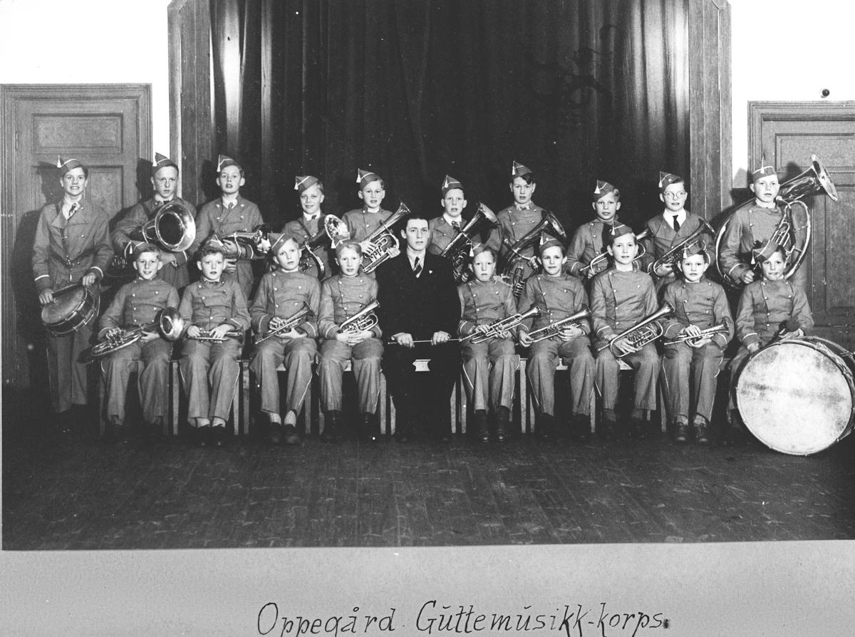 Oppegård Guttemusikk - korps.