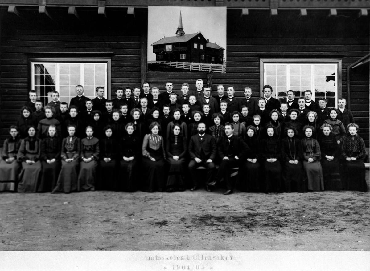 Amtskolen i Akershus.  Elever fra Øvre Romerike.