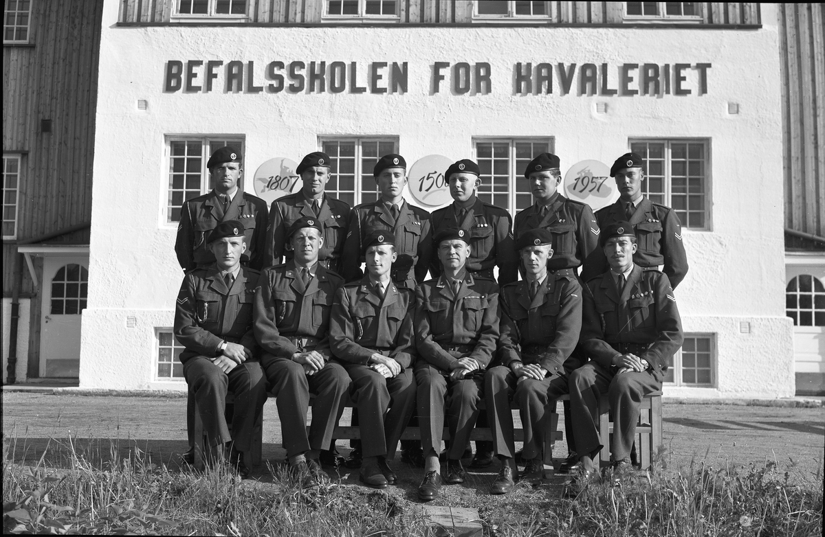 Befalsskolen for Kavaleriet, 1957. 150 års jubileum.