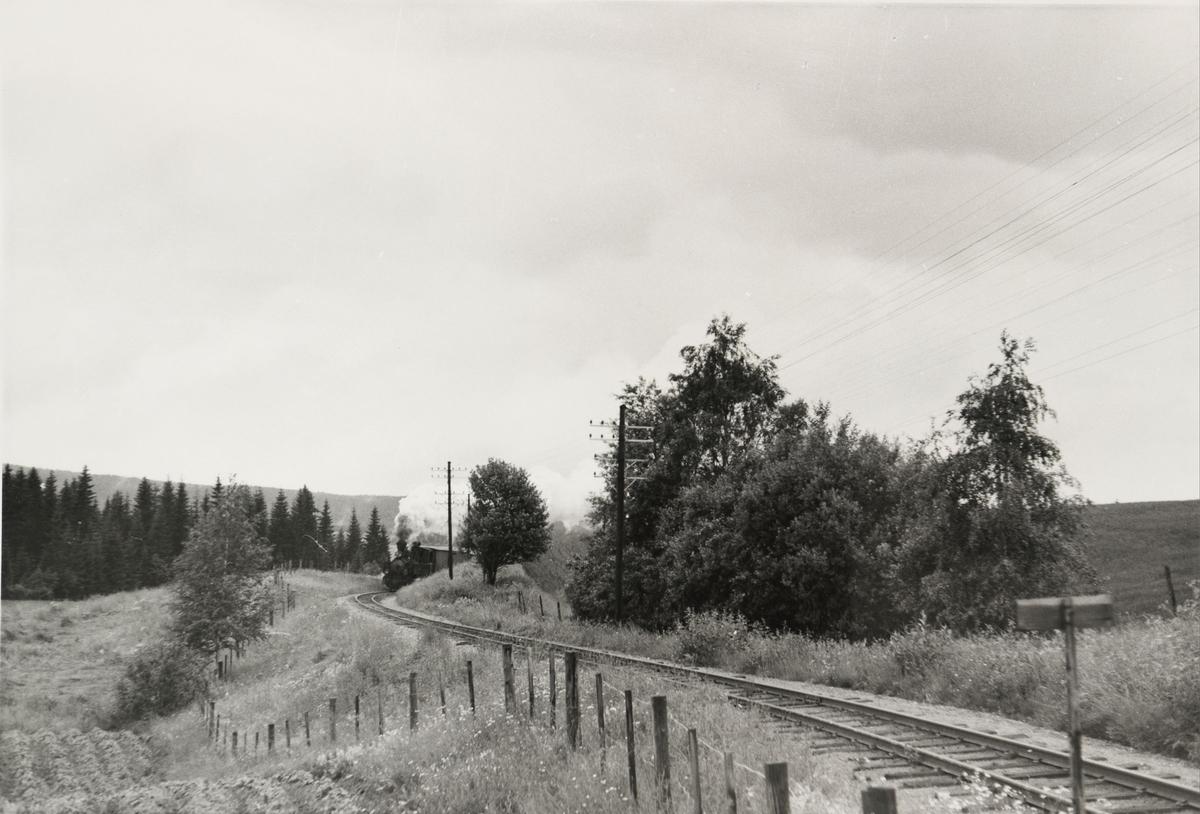Tog til Skulerud i Harkerudbakken