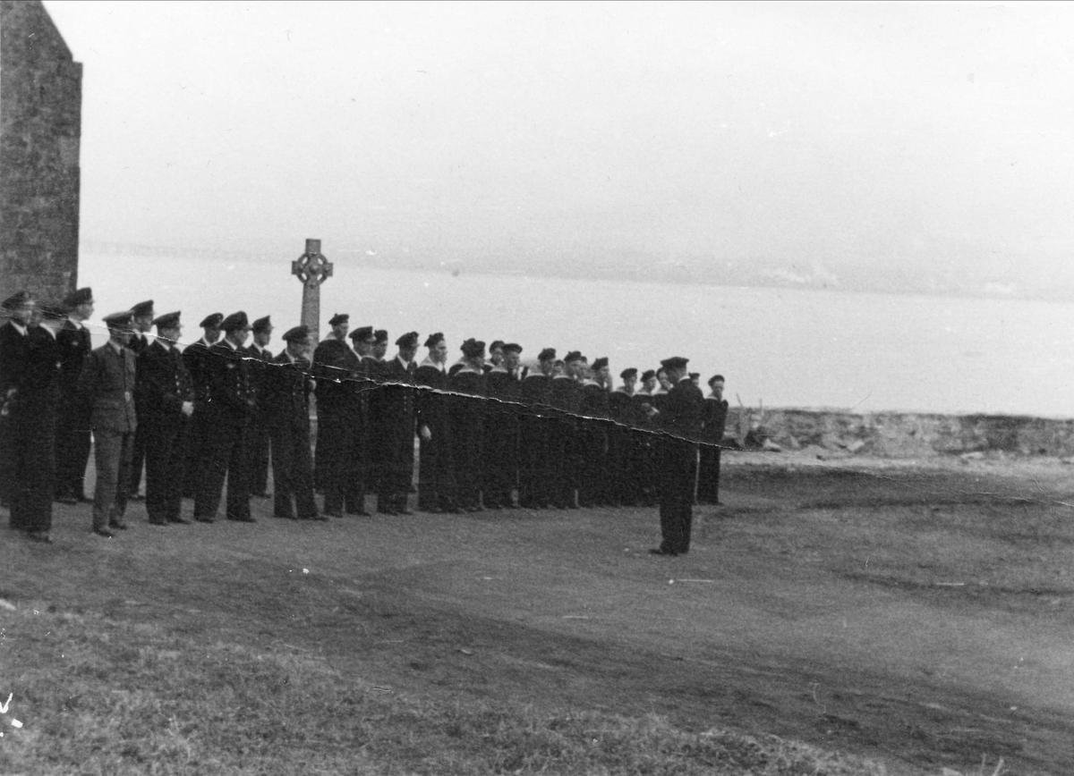 Oppstilling i Woodhaven, 1942.