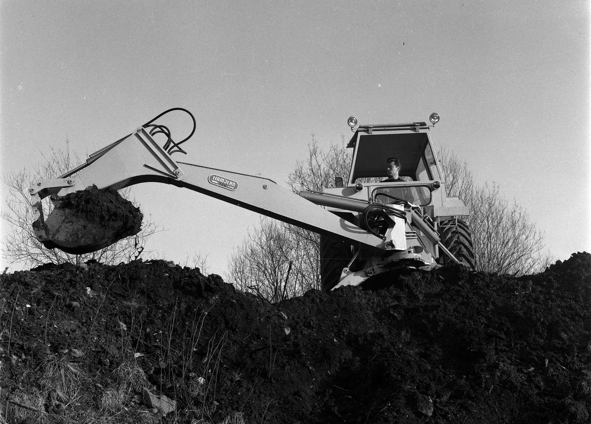 Hamjern traktorgraver