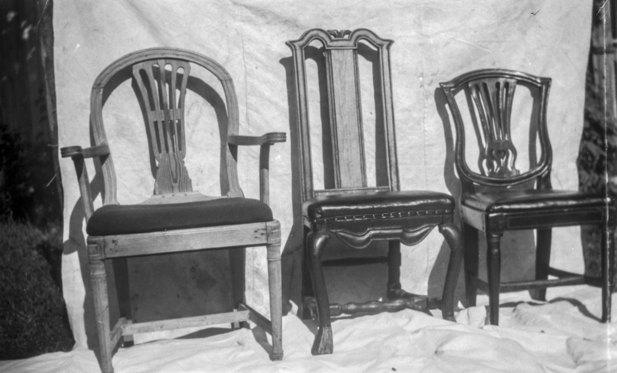 Tre stoler