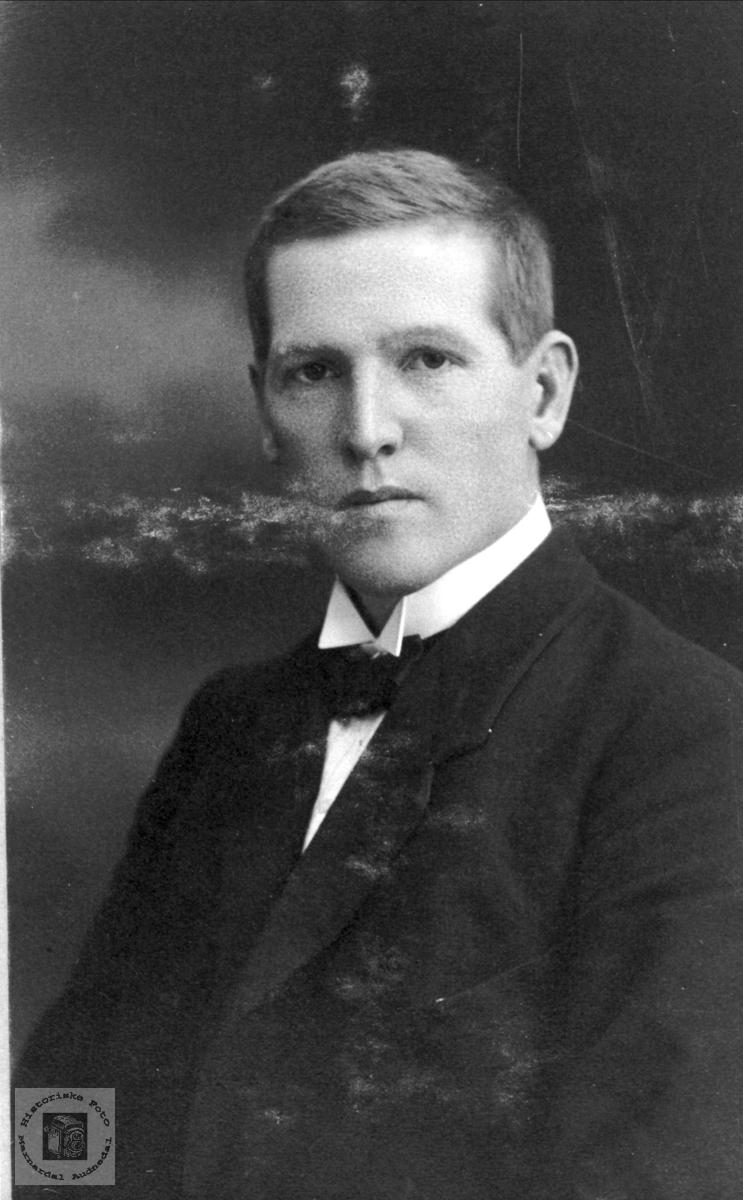 Portrett av Torkjell Ånenson Breilid, Bjelland.