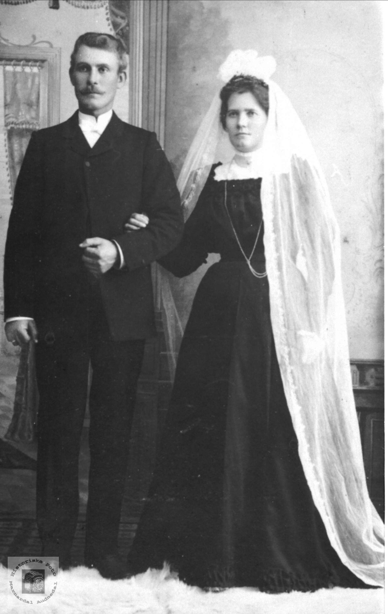 Ekteparet Erik og Tomine (Mina), Øislebø