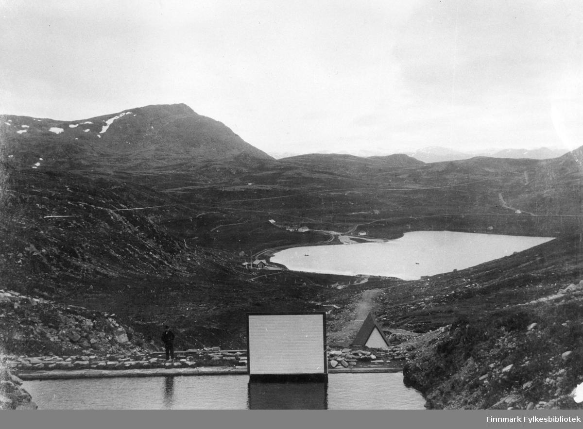 Hammerfest vannverk i 1908.