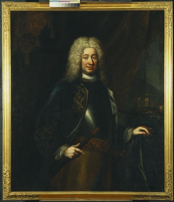 Fredrik I, 1676-1751, konung av Sverige lantgreve av Hessen-Kassel