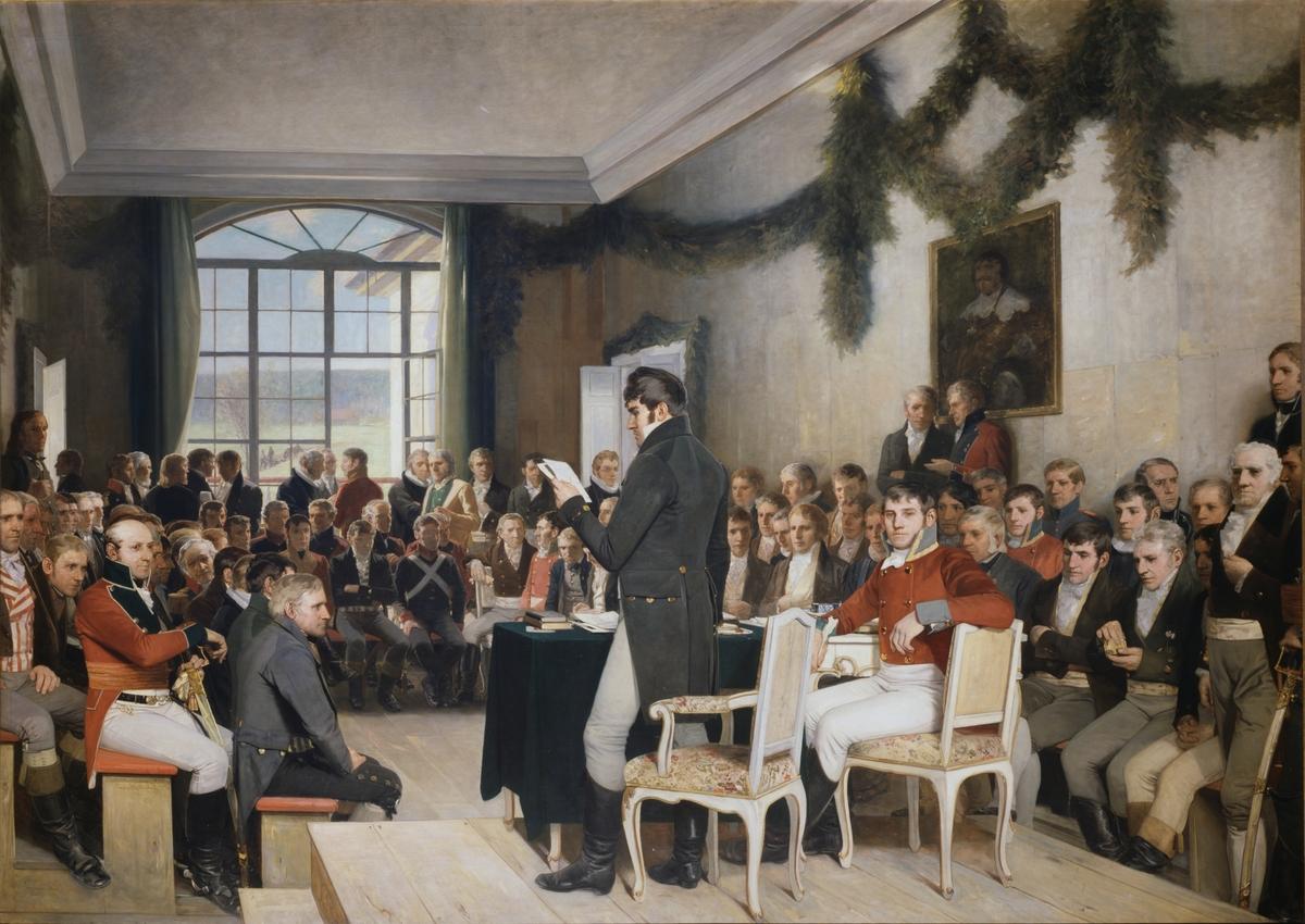 Eidsvold 1814 [Maleri]