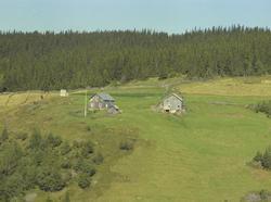 Aasen (Åsen), småbruk, Svatsum, Vestre Gausdal. Stue, uthus,