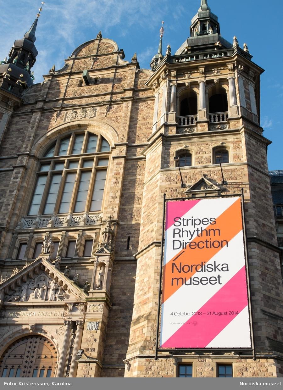 Ränder utställningsdokumentation, Exteriör med veporna. I dokumentationen ingår NMA.0063695-NMA.0063706