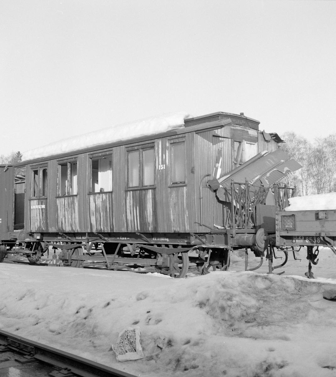 Utrangert person- og konduktørvogn BF2a