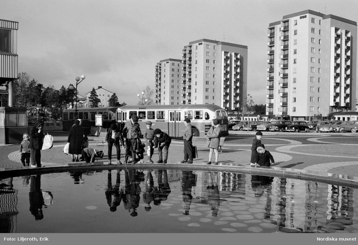 Vällingby. Sveriges första kompletta drabantstad kom till i slutet av 1950-talet.