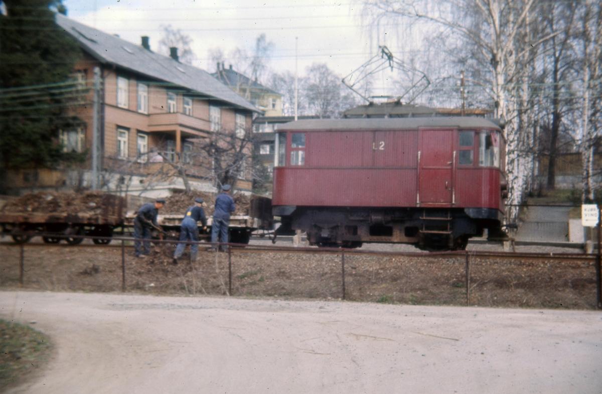 Holmenkollbanens arbeidslokomotiv nr 2.